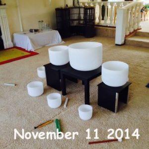crystal bowl magic November 11 2014