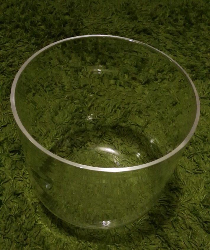 Clear Quartz Crystal Singing Bowls