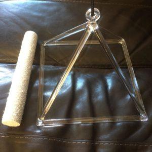 Crystal Pyramid 8 inch