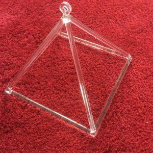 Crystal Pyramid 9 inch