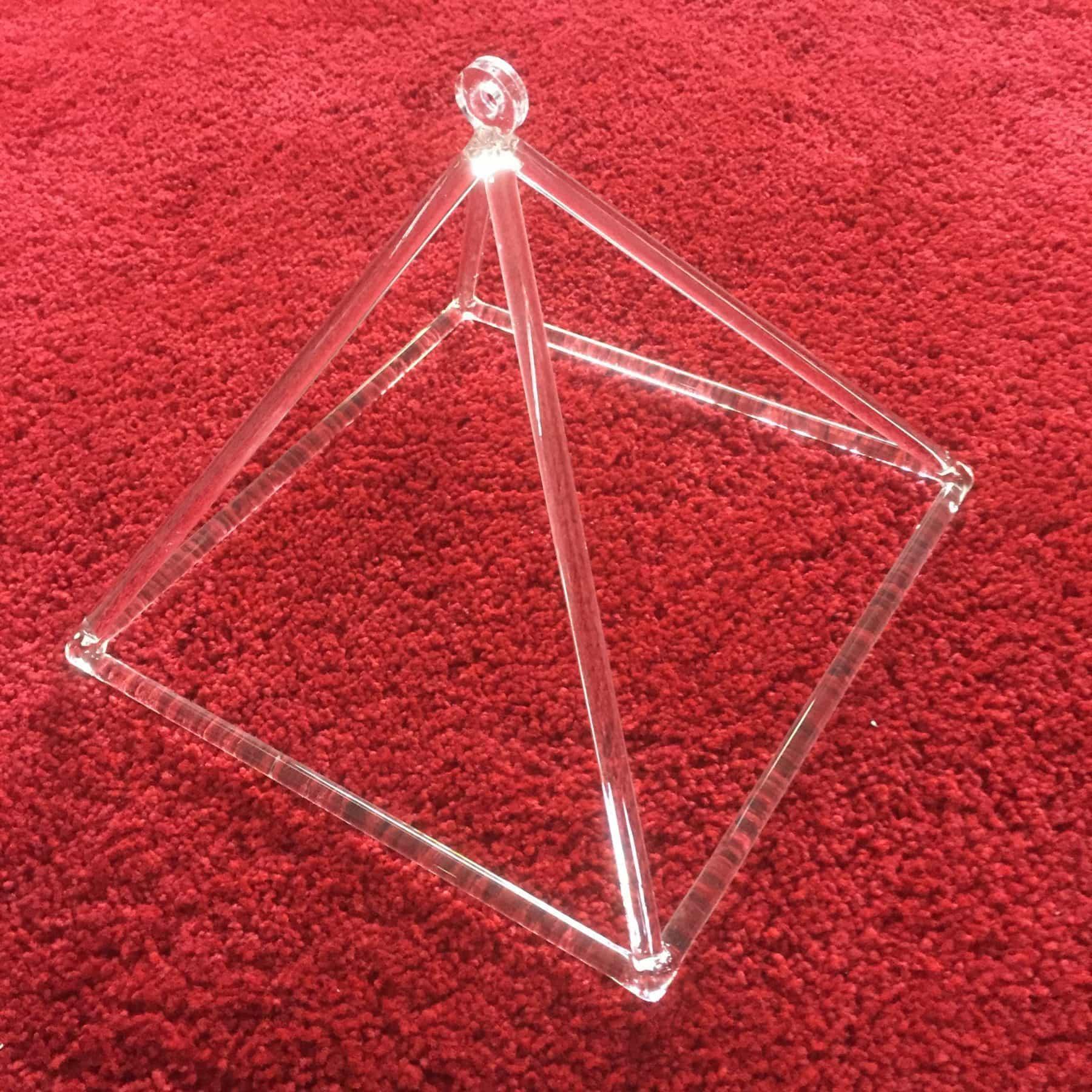Clear Quartz Crystal Pyramids