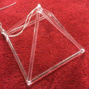 Crystal Pyramid 14 inch