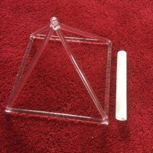 Crystal Pyramid 12 inch