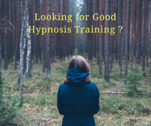 Looking for Good Hypnosis Training